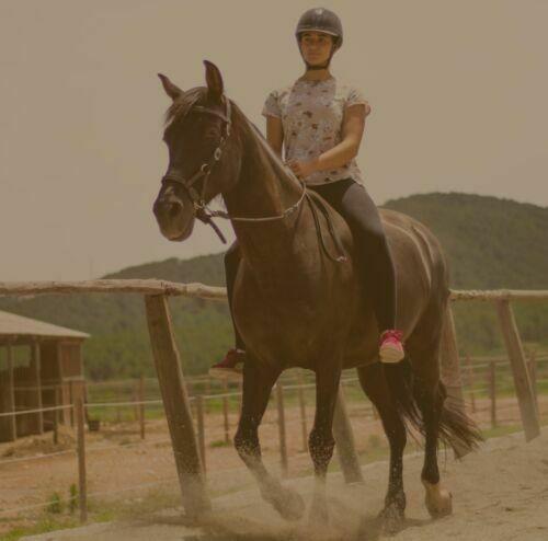 Clases equitación natural Sitges Vilanova Canyelles