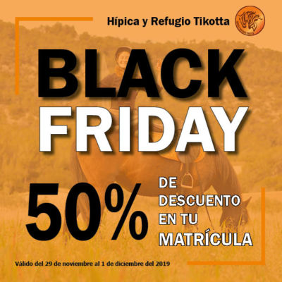 Disfruta del BLACK FRIDAY de Tikotta